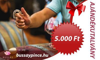 Bussay Ajándékutalvány 5000 Ft - Ajándékutalvány
