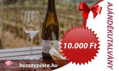 Bussay Ajándékutalvány 10000 Ft - Ajándékutalvány