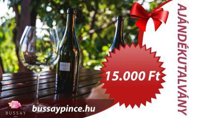 Bussay Ajándékutalvány 15000 Ft - Ajándékutalvány